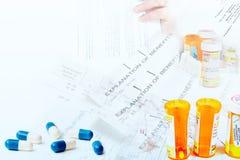 Healthcare paperwork stock photo