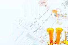 Healthcare paperwork Stock Image