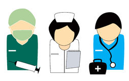 Healthcare People Royalty Free Stock Photo