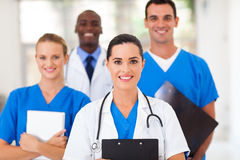Healthcare professionals hospital. Group of healthcare professionals in hospital Stock Photos
