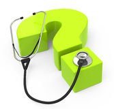 Healthcare questions Royalty Free Stock Photos
