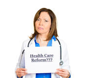 Healthcare reform? Royalty Free Stock Photography