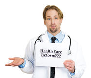 Healthcare reform? Royalty Free Stock Photos