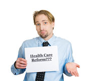 Healthcare reform? Stock Photo