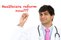 Healthcare reform now Royalty Free Stock Photo