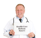 Healthcare reform now!!! Stock Image