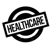 Healthcare rubber stamp Royalty Free Stock Photos