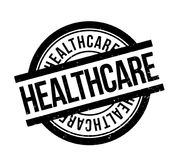 Healthcare rubber stamp Stock Photography