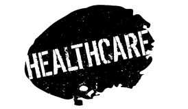 Healthcare rubber stamp Stock Images