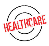 Healthcare rubber stamp Royalty Free Stock Photography