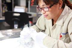 Healthcare Science, Biochemist, Chemistry, Researcher Royalty Free Stock Photo