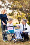 Healthcare senior patient Stock Photos