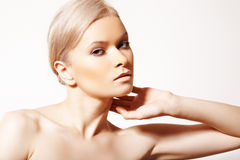 Healthcare. Spa. Wellness, beauty and skin care Royalty Free Stock Images