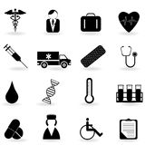 Healthcare symbols Royalty Free Stock Image