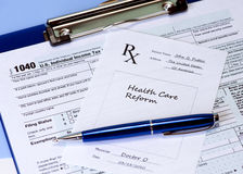 Healthcare and Taxes Royalty Free Stock Photo