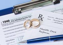 Healthcare and Taxes Stock Photos