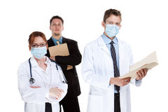 Healthcare team Royalty Free Stock Photo