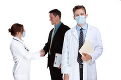 Healthcare team Royalty Free Stock Images