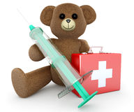 Healthcare Teddy Royalty Free Stock Photos