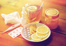 Traditional medicine and drugs Stock Image