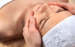 Healthcare treatment at the spa Royalty Free Stock Photography