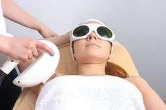 Healthcare treatment at the spa Royalty Free Stock Photo