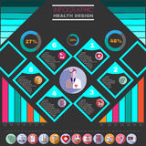 Healthcare Vector Infographic. Royalty Free Stock Photography