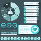 Healthcare Vector Infographic Stock Photos