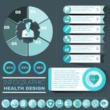 Healthcare Vector Infographic Stock Photos