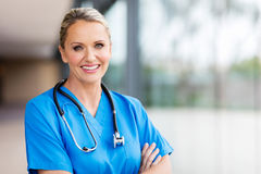Healthcare worker portrait Royalty Free Stock Image