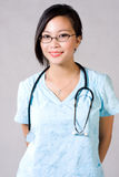 Healthcare workers. Nurse health care workers with a beautiful smile stock images