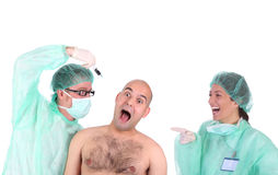 Healthcare workers Stock Photo