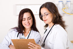 Healthcare workers Royalty Free Stock Image