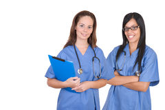 Healthcare workers team Royalty Free Stock Photos