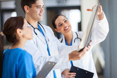 Healthcare workers working royalty free stock images