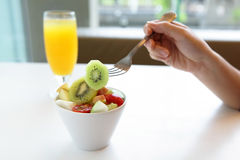 Healthful breakfast Stock Image