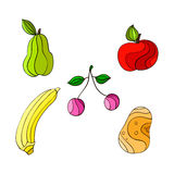 Healthful fruits. There are healthful fruits,colorful and tasty Royalty Free Stock Image