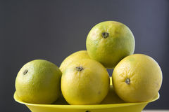 Healthful Sweet Lemons Stock Photo
