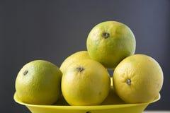 Healthful Sweet Lemons Stock Photo