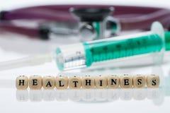 Healthiness; стетоскоп стоковые фото