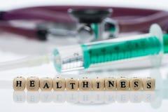 Healthiness; стетоскоп стоковая фотография rf