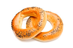 Healthly Lifestyle Bagels Royalty Free Stock Photos