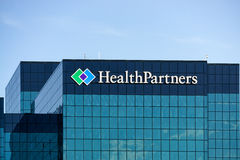 HealthPartners Headquarters Building. BLOOMINGTON, MN/USA - August 12, 2015: HealthPartners headquarters building. HealthPartners is an integrated, nonprofit Royalty Free Stock Photos