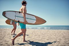 Healthy Active Lifestyle. Surfing. Summer Vacation. Extreme Spor. Water sports. Healthy Active Lifestyle. Surfing. Summer Vacation. Extreme Sport. Young surfer Stock Images