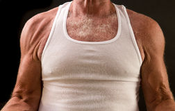 Healthy aging - senior muscle Royalty Free Stock Photos