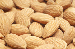 Healthy Almonds Stock Photo