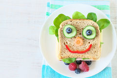 Free Healthy And Fun Food For Kids Stock Photos - 95470473