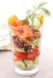 Healthy appetizer Stock Images