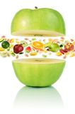 Healthy apple Royalty Free Stock Images