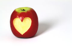 A healthy apple Stock Photography
